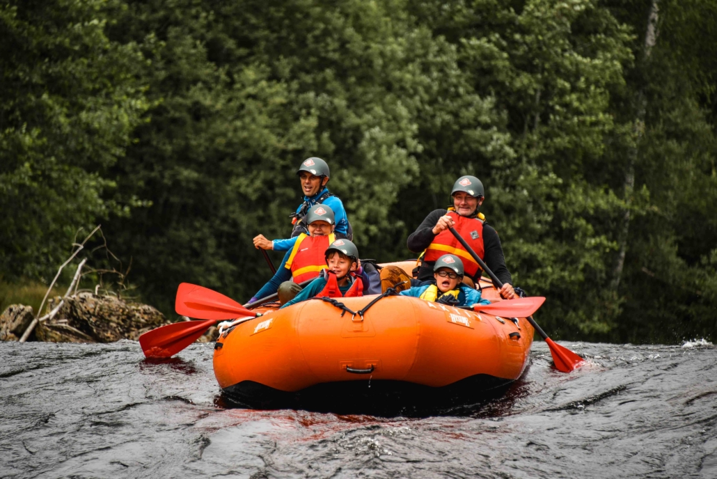 Rafting Sigdal Aktiv
